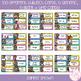 Editable Daily Visual Timetable Cards - Rainbow