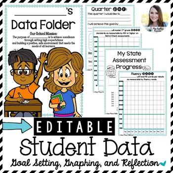 Editable Data Journal (a SMART Goal Data Folder)