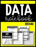Editable Data Notebook for Students