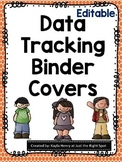 Editable Data Tracking Binder Covers
