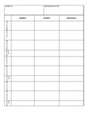 Editable Day Plan Template for PREP Teachers
