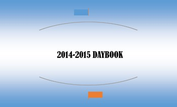 Editable Daybook pages