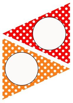 Editable Decoration Pack - Polka Dots