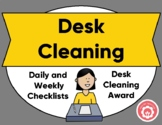 Desk Cleaning Checklists And Student Award