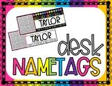 Editable Desk Name Tag