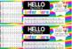 Editable Desk Name Tags