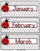Editable Desk Name Tags Chair Name Tags Plus Calendar Decor