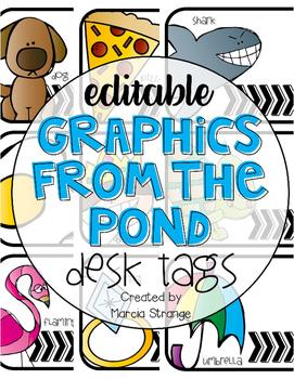 Editable Desk Tags and Name Plates