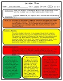 Editable Differentiated Lesson Plan