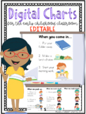 Editable Digital Charts