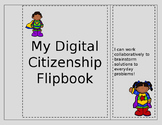 Intermediate and Middle School Editable Digital Citizenship Station Flipbook