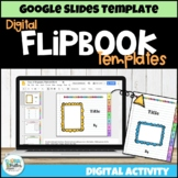 Distance Learning: Editable Digital Flipbook Templates for