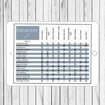 Editable Digital Grade Book   Google Sheets
