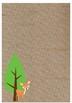 Editable Digital Paper Woodland Decor