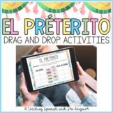 Spanish Preterite Digital Drag & Drop Activities - Distanc