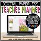 Editable Digital Teacher Planner and Binder - Cactus Theme