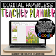 Editable Digital Teacher Planner and Binder - Cactus Theme
