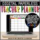 Editable Digital Teacher Planner and Binder - Stylish Floral Theme