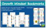 Growth Mindset: Student Bookmark Creation Project - Digita