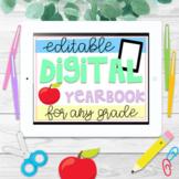Editable Digital Yearbook