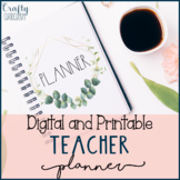 Editable, Digital, and Printable Forever Planner