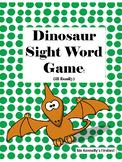 Editable Dinosaur Sight Word Match Game (ill-family)