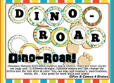 Editable Dinosaur themed bulletin board letters, labels