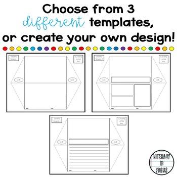 picture regarding Printable Diorama titled Diorama Job Templates (Editable - Printable - Electronic)