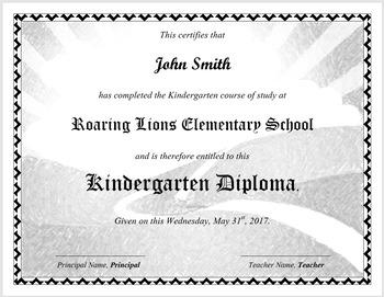 Editable Diploma