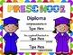 Editable Diplomas-English