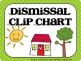 Editable Dismissal Clip Chart