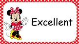 Editable Disney Clip Chart