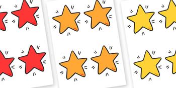 Editable Display Stars