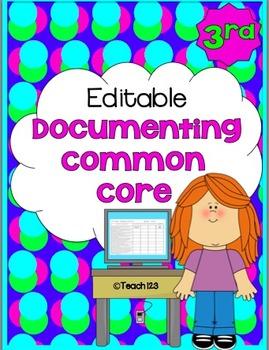 Common Core Charts