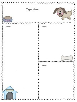 Editable Dog Newsletters