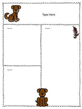 Editable Dog Newsletters
