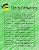 ***Editable*** Dojo Rewards Chart