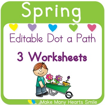 Editable Dot a Path: Gardening