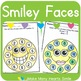 Editable Dot a Picture: Smiley Faces