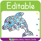 Editable Dot a Picture Worksheets      MHS14