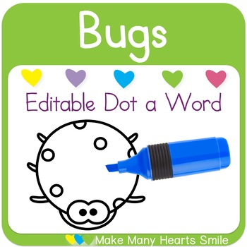 Editable Dot a Word: Bugs