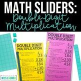 Editable Double Digit Multiplication Steps Slider Aid