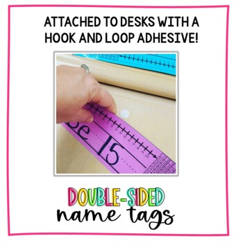 Editable Double-Sided Name Tags