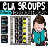 Editable ELA Rotation Board
