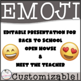 Editable EMOJI Welcome Back Presentation