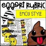 Editable EMOJI Work and Effort Rubric