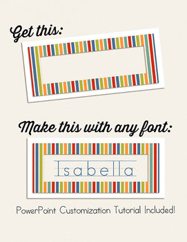 Editable EZ Cut Word Wall and Flash Cards {In Session}