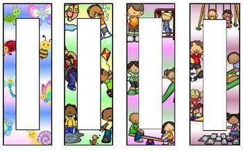 Editable Easter & Spring Bookmarks (Gift for Kids)