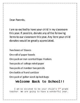 Editable Elementary Registration Packet