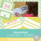 Editable Emergent Reader: The Experience Book